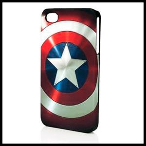 Carcasa iPhone 4 Capitan America Estrella