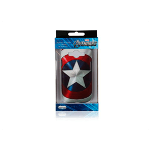 Carcasa Gal S3 Capitan America Estrella