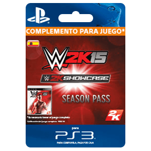 WWE 2K15 Showcase Season Pass (PS4)