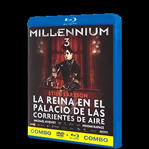 Millennium 3:La Reina En El Palacio De Las (Combo)