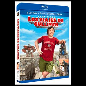 Los Viajes De Gulliver  Bd (Bd + Dvd+ Copia Dig)
