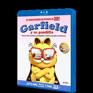 Garfield Y Su Pandilla + 3D