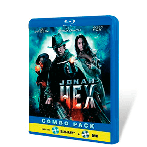 Jonah Hex Bluray + DVD