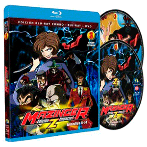 Mazinger, Edición Z Impacto! Vol.3 Bd(2 Discos)