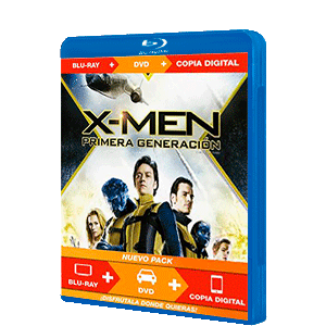 X-Men First Class Triple Play (Bd+Dvd+Dc)