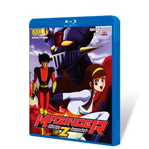 Mazinger Edicion Z Impacto Bluray Combo Box 1