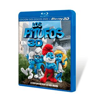 Los Pitufos Bluray 3D + DVD