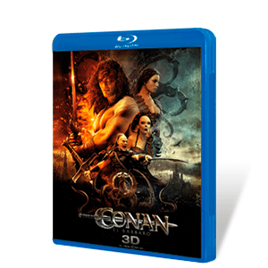Conan El Barbaro Bluray + DVD + Bluray 3D