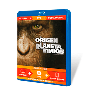 El Origen del Planeta de los Simios Bluray + DVD + Copia Digital