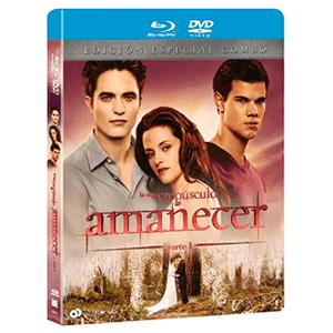 Amanecer 1ª Parte (Combo Dvd + Bd) (2 Discos)