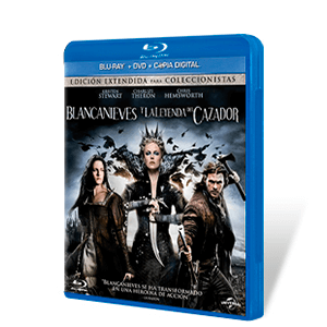 Blancanieves y Leyenda del Cazador Bluray + DVD + Copia Digital