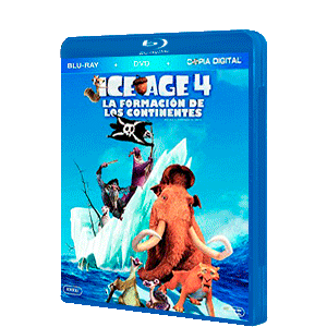Ice Age 4: La Formacion de los Continentes Bluray + DVD + Copia Digital