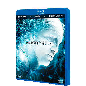 Prometheus Bluray + DVD + Copia Digital