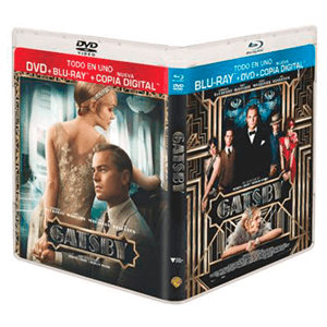 El Gran Gatsby (2013) (Combo) + Copia Digital
