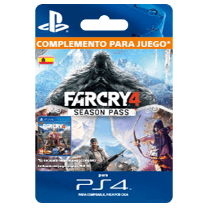 Far Cry 4 - Pase de temporada (PS4)