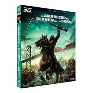 El Amanecer del Planeta de Los Simios Bluray + Bluray 3D