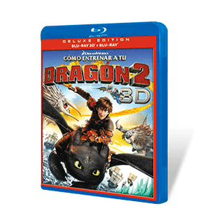 Como Entrenar a tu Dragon 2 Bluray + Bluray 3D