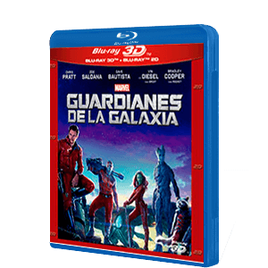 Guardianes de la Galaxia Bluray + Bluray 3D