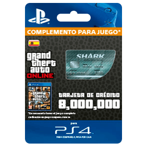 GTA - Megalodon Shark Cash Card (PS4)