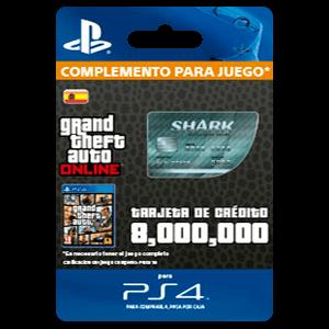 Gta Megalodon Shark Cash Card Ps4 Prepagos Game Es