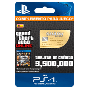 GTA - Whale Shark Cash Card (PS4)