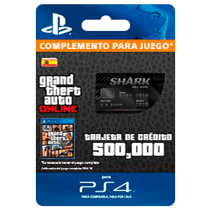 GTA - Bull Shark Cash Card (PS4)
