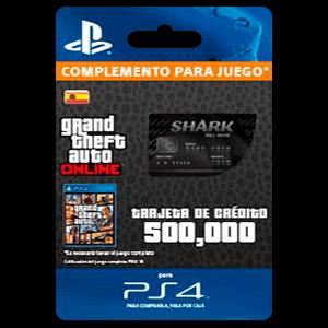 Gta Bull Shark Cash Card Ps4 Prepagos Game Es
