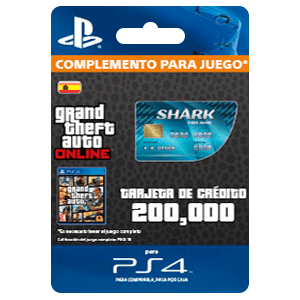 GTA - Tiger Shark Cash Card (PS4)