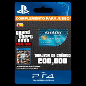 GTA - Tiger Shark Cash Card (PS4)