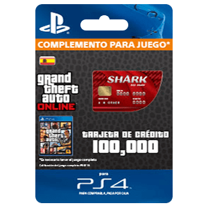 GTA - Red Shark Cash Card (PS4)