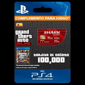 GTA - Red Shark Cash Card (PS4)