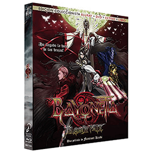 Bayonetta Bluray + DVD