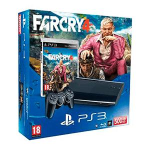 Playstation 3 Slim 500Gb + Far Cry 4