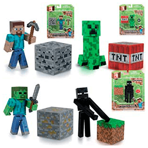 Surtido Blister Pack Personajes (Minecraft)