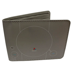 Cartera Playstation 1 Gris