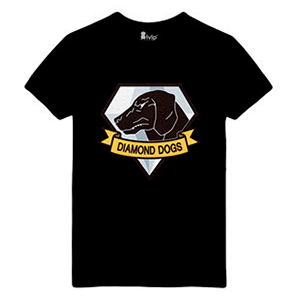 Camiseta Diamond Dogs (Metal Gear) Talla S