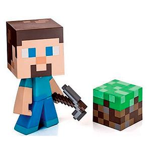Figura Vinilo Steve (Minecraft)