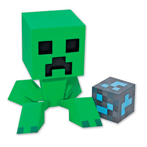 Figura Vinilo Creeper (Minecraft)