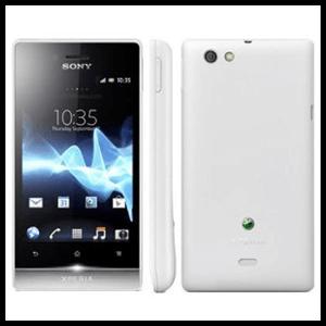 Sony Xperia Miró 4Gb (Blanco/Plata) - Libre -