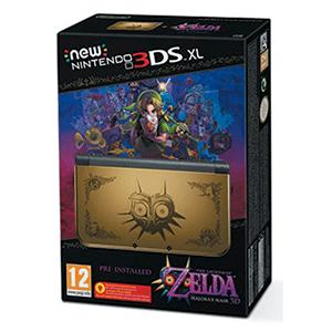New Nintendo 3DS XL Zelda Majora's Mask 3D Edicion Especial Preinstalado