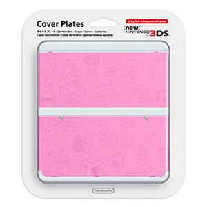 New 3DS Carcasa: Mario Rosa