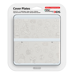 New 3DS Carcasa: Mario Blanco