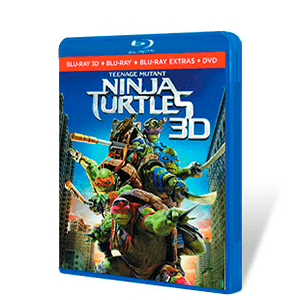 Ninja Turtles Bluray + Bluray 3D + DVD