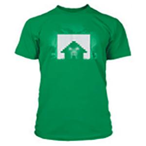 "Camiseta Minecraft ""Survival"" Verde Talla XL"