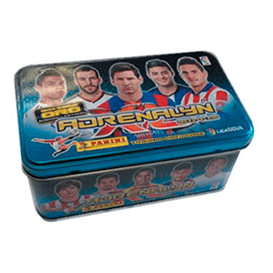 Caja metalica Cromos Adrenalyn 2014-2015