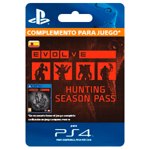 Evolve Hunting Season Pass (PS4)