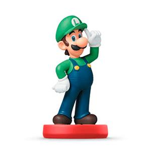 Figura Amiibo Luigi - Coleccion Super Mario
