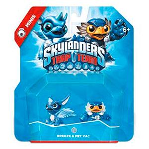 Figura Skylanders Trap Team Minis: Breeze-Pet Vac