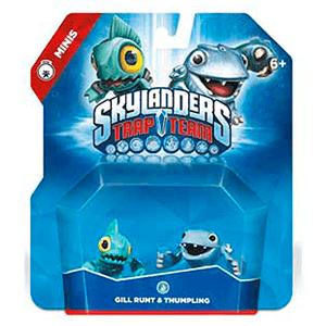 Figura Skylanders Trap Team Minis: Gill-Thumpling
