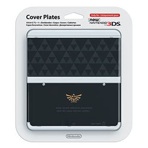 New 3DS Carcasa: Zelda Triforce